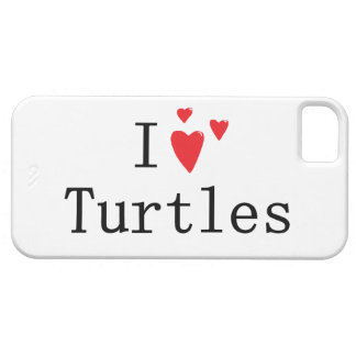 I Love Turtles iPhone 5 Cover
