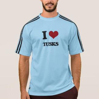 I love Tusks T-shirt