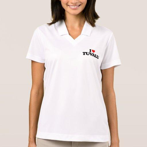 I LOVE TUVALU POLO T-SHIRT