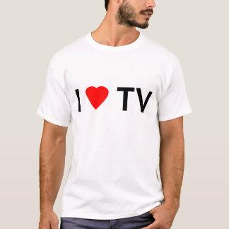 I Love TV T-Shirt