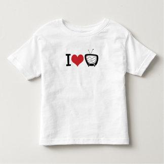 I Love TV Toddler T-Shirt