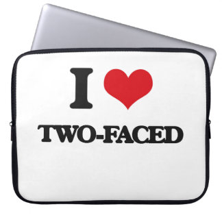 I love Two-Faced Laptop Sleeves