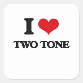 I Love TWO TONE Sticker