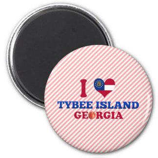 I Love Tybee Island, Georgia Magnet