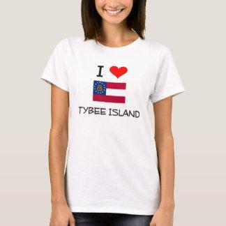 I Love TYBEE ISLAND Georgia T-Shirt