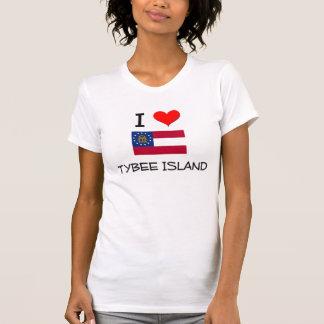 I Love TYBEE ISLAND Georgia Tshirt