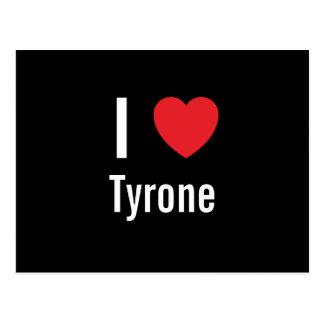 I love Tyrone Postcard
