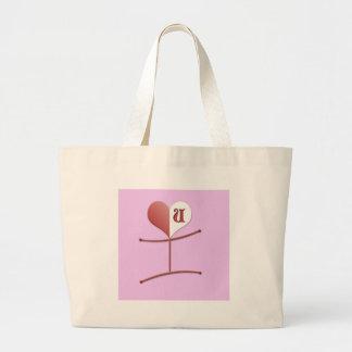 """I Love U"" All Occasions Tote Bags"