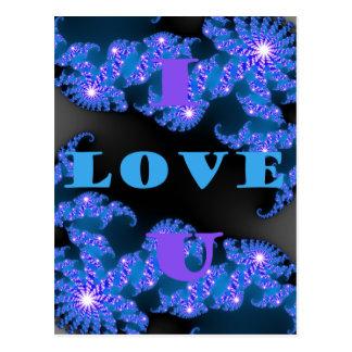 I Love U.png Postcard