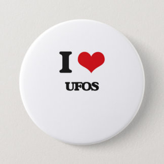 I love Ufos 7.5 Cm Round Badge