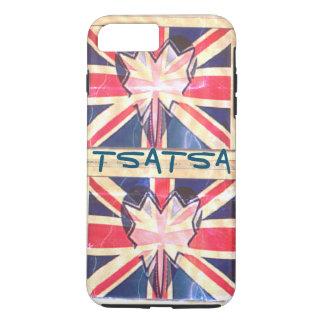 I love UK Lovely heart flag colors iPhone 8 Plus/7 Plus Case