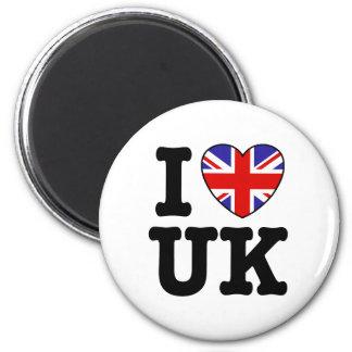 I Love UK Magnet