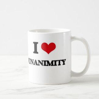 I Love Unanimity Coffee Mug