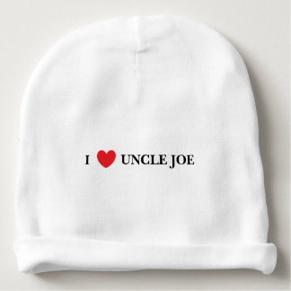 """I Love Uncle"" Baby Hat Baby Beanie"