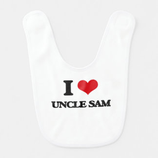 I love Uncle Sam Bib