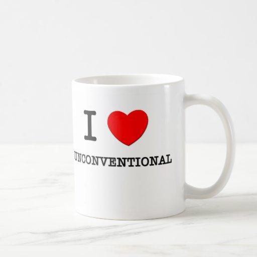 I Love Unconventional Coffee Mug