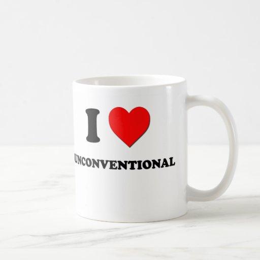 I love Unconventional Mug