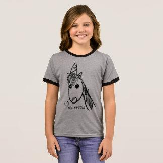 I love unicorns ringer T-Shirt