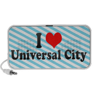 I Love Universal City, United States iPhone Speaker