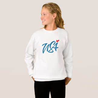 I love USA Sweatshirt