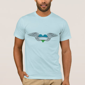 I Love Uzbekistan -wings T-Shirt