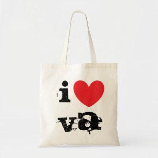 I Love VA Tote Bag