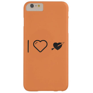 I Love Valentine�s Day Barely There iPhone 6 Plus Case