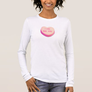 I Love... Valentine's Day Heart Candy Long Sleeve T-Shirt