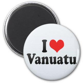 I Love Vanuatu Magnet
