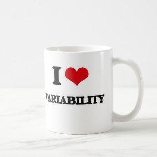 I Love Variability Coffee Mug