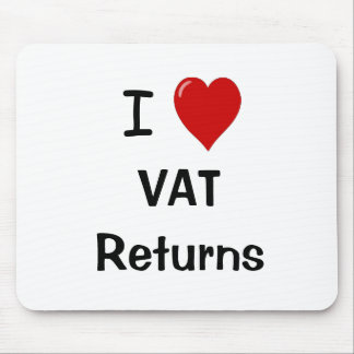 I Love VAT Returns - VAT Specialist Mousepad