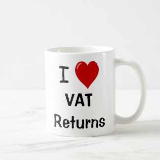 I Love VAT Returns - VAT Specialist Mug