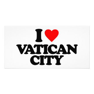 I LOVE VATICAN CITY PHOTO CARDS