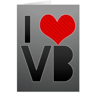 I Love VB Card