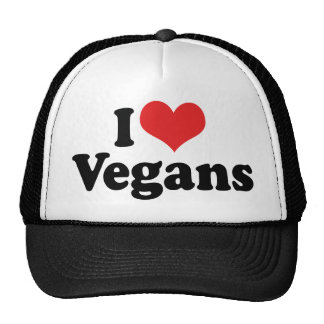 I Love Vegans Cap