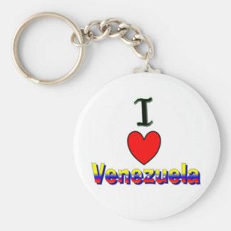 I Love Venezuela Keychain