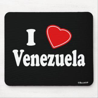 I Love Venezuela Mousepads