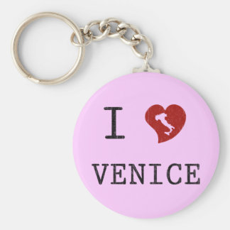 I Love Venice Key Chains
