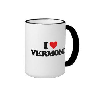 I LOVE VERMONT MUGS