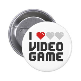 I Love Video Game Buttons