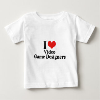 I Love Video Game Designers Shirt