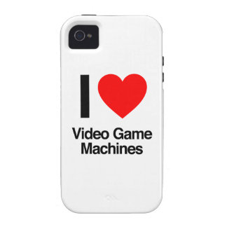 i love video game machines iPhone 4/4S case