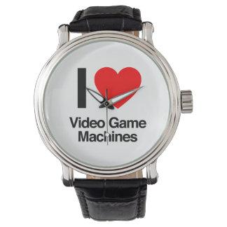 i love video game machines wristwatch