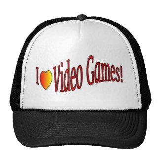 I love video games hat
