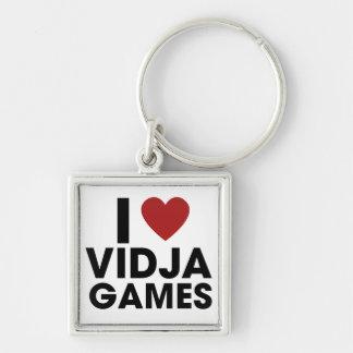 I love Video Games Key Chains