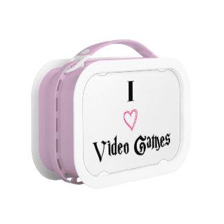 I Love Video Games Yubo Lunchbox