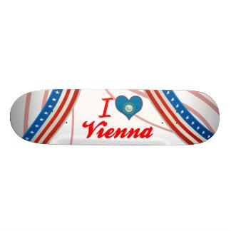 I Love Vienna, South Dakota Skateboard Deck