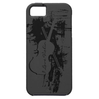 I Love Violin iPhone 5 Cover