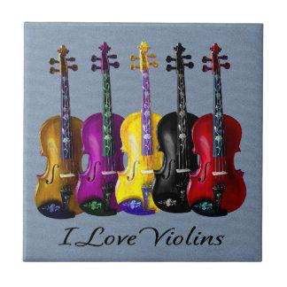 I LOVE VIOLINS-2 TILE
