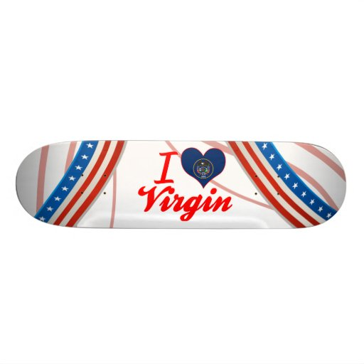 I Love Virgin, Utah Skate Board Decks